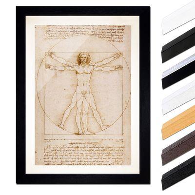 Leonardo da Vinci - Vitruvianischer Mensch – Bild 1