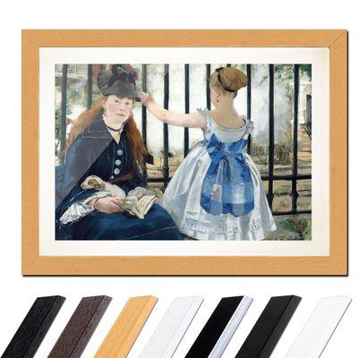 Édouard Manet - Die Eisenbahn – Bild 6