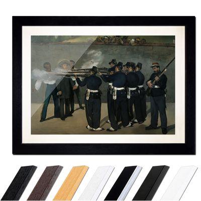 Édouard Manet - Die Erschießung Kaiser Maximilians in Mexiko