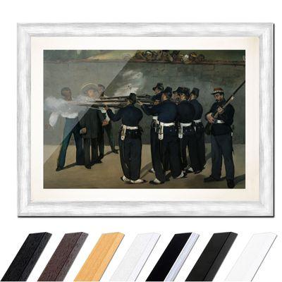 Édouard Manet - Die Erschießung Kaiser Maximilians in Mexiko – Bild 5