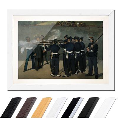 Édouard Manet - Die Erschießung Kaiser Maximilians in Mexiko – Bild 8