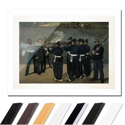 Édouard Manet - Die Erschießung Kaiser Maximilians in Mexiko – Bild 2