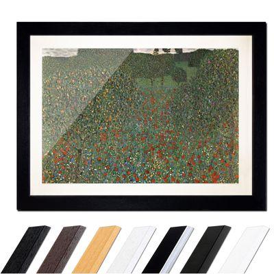 Gustav Klimt - Mohnfeld – Bild 1
