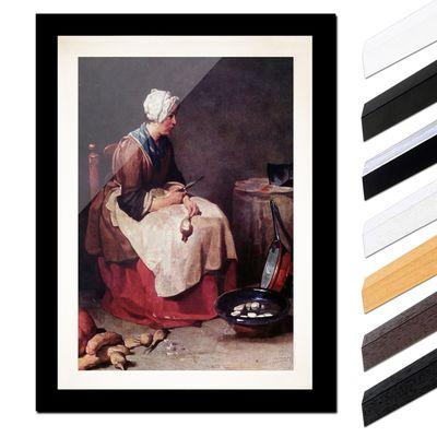 Jean Siméon Chardin - Die Rübenputzerin – Bild 3