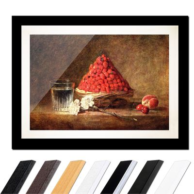 Jean Siméon Chardin - Der Erdbeerkorb – Bild 3