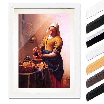 Jan Vermeer - Dienstmagd mit Milchkrug – Bild 8