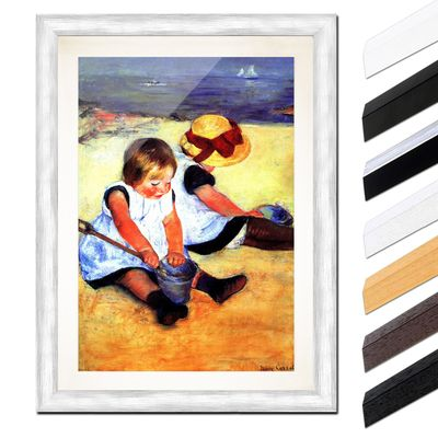 Mary Cassatt - Kinder am Strand – Bild 5