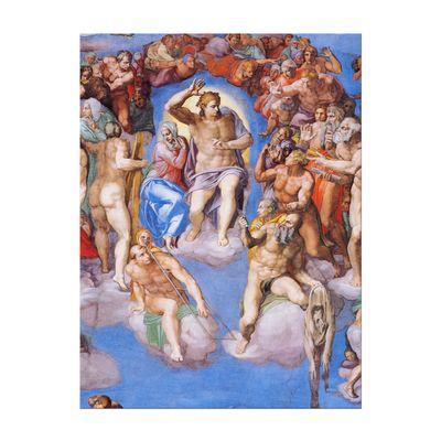 Michelangelo - Jüngstes Gericht - Detail – Bild 7
