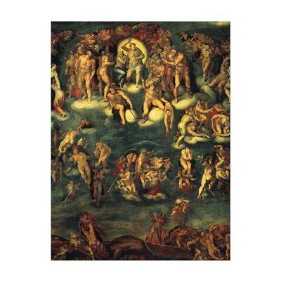 Michelangelo - Jüngstes Gericht I – Bild 7
