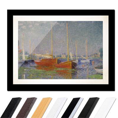 Claude Monet - Die roten Boote, Argenteuil – Bild 3