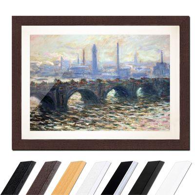 Claude Monet - Die Waterloo Brücke – Bild 4