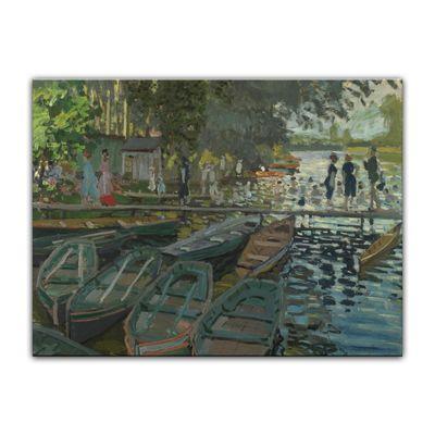Claude Monet - Badende in La Grenouillère – Bild 7