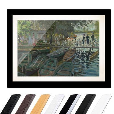 Claude Monet - Badende in La Grenouillère – Bild 3