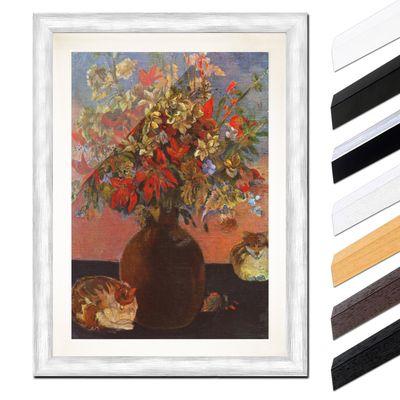 Paul Gauguin - Blumen und Katzen – Bild 5
