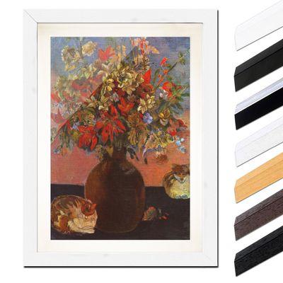 Paul Gauguin - Blumen und Katzen – Bild 8