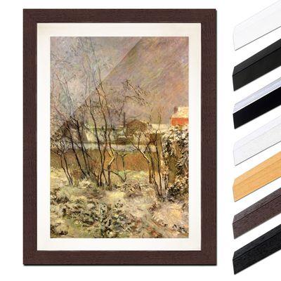Paul Gauguin - Schnee in der Rue Carcel – Bild 4