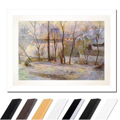 Paul Gauguin - Garten im Schnee – Bild 2
