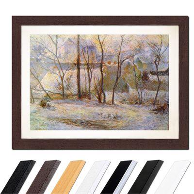 Paul Gauguin - Garten im Schnee – Bild 4