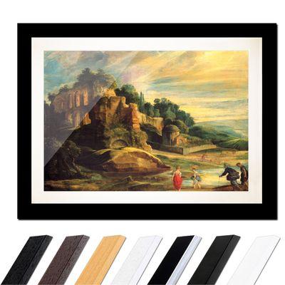 Peter Paul Rubens - Landschaft mit den Ruinen des Hügels Palatin in Rom – Bild 3