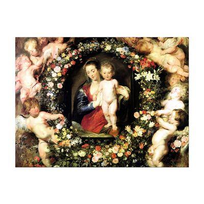 Peter Paul Rubens - Madonna im Blumenkranz – Bild 7