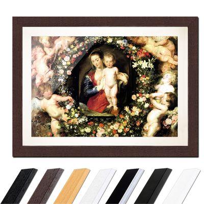 Peter Paul Rubens - Madonna im Blumenkranz – Bild 4