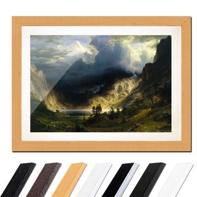 Albert Bierstadt - Sturm in den Rocky Mountains, Mt. Rosalie – Bild 6