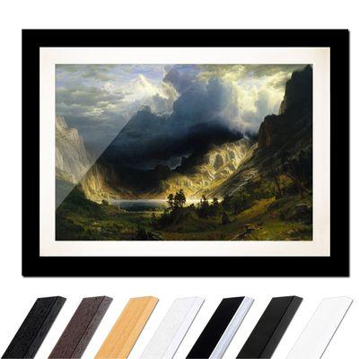 Albert Bierstadt - Sturm in den Rocky Mountains, Mt. Rosalie – Bild 3