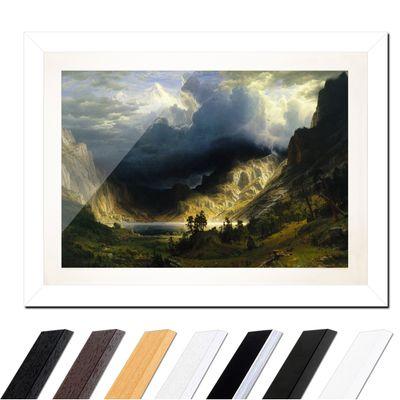 Albert Bierstadt - Sturm in den Rocky Mountains, Mt. Rosalie – Bild 2