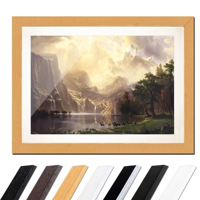 Albert Bierstadt - Among the Sierra Nevada Mountains – Bild 6