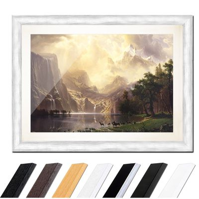Albert Bierstadt - Among the Sierra Nevada Mountains – Bild 5