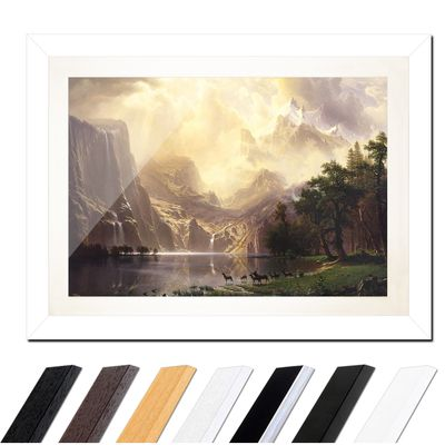 Albert Bierstadt - Among the Sierra Nevada Mountains – Bild 2