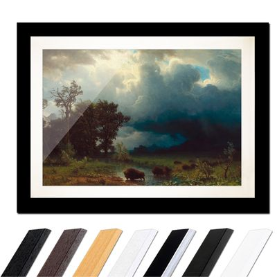 Albert Bierstadt - Buffalo Trail, The Impending Storm – Bild 3