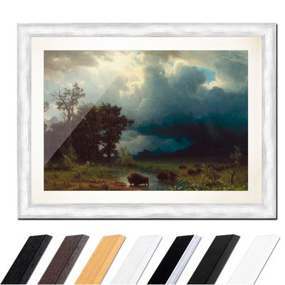 Albert Bierstadt - Buffalo Trail, The Impending Storm – Bild 5