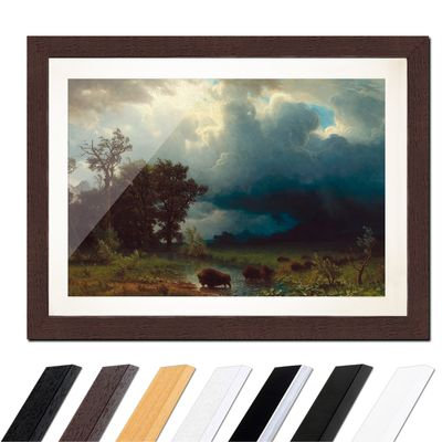 Albert Bierstadt - Buffalo Trail, The Impending Storm – Bild 4