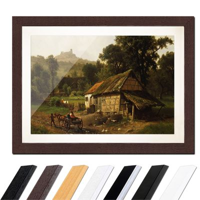 Albert Bierstadt - In the Foothills – Bild 4