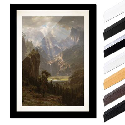 Albert Bierstadt - The Rocky Mountains, Lander´s Peak – Bild 3