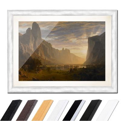 Albert Bierstadt - Looking Down Yosemite Valley, California – Bild 5