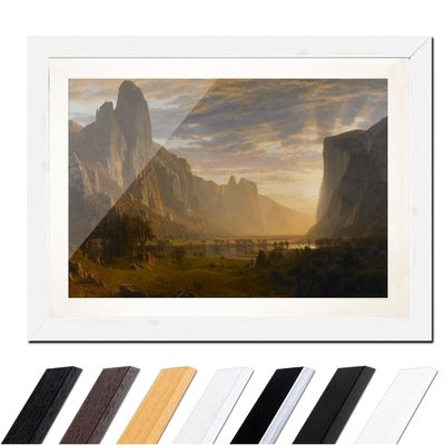 Albert Bierstadt - Looking Down Yosemite Valley, California – Bild 8