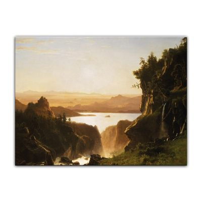 Albert Bierstadt - Island Lake, Wind River Range, Wyoming – Bild 7