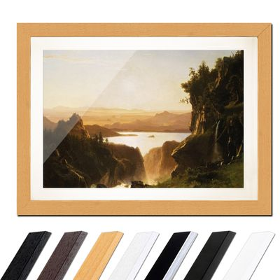 Albert Bierstadt - Island Lake, Wind River Range, Wyoming – Bild 6