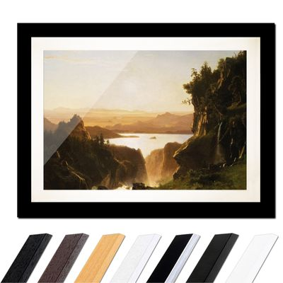 Albert Bierstadt - Island Lake, Wind River Range, Wyoming – Bild 3
