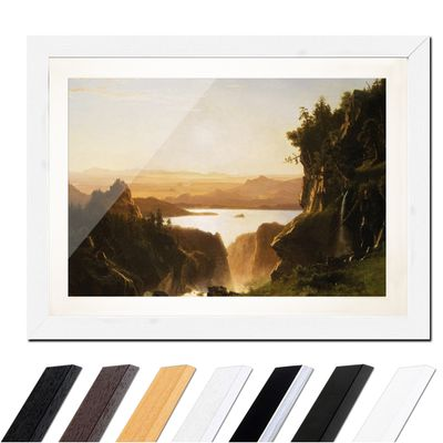 Albert Bierstadt - Island Lake, Wind River Range, Wyoming – Bild 8