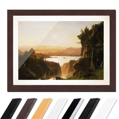 Albert Bierstadt - Island Lake, Wind River Range, Wyoming – Bild 4