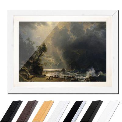 Albert Bierstadt - Puget Sound on the Pacific Coast – Bild 8