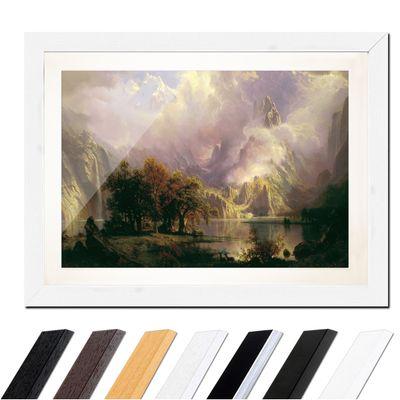 Albert Bierstadt - Rocky Mountain Landscape – Bild 8