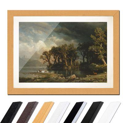 Albert Bierstadt - The coming storm - Der aufkommende Sturm – Bild 6