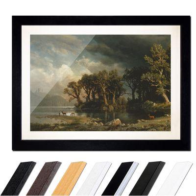 Albert Bierstadt - The coming storm - Der aufkommende Sturm – Bild 1