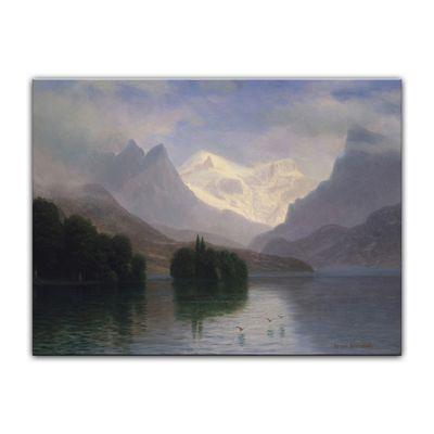 Albert Bierstadt - Mountain Scene – Bild 7