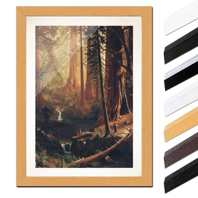 Albert Bierstadt - Giant Redwood Trees of California – Bild 6