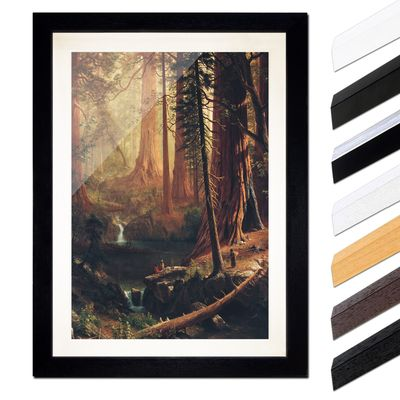 Albert Bierstadt - Giant Redwood Trees of California – Bild 1